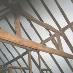 Original oak timber roof