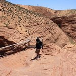 Lower Antelope canyon with 'Ken's Tours'