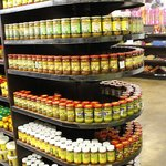 Choose from a wide variety of local and imported pickles.
