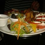 Italian mixed platter from the '2 dine for £20' menu.
