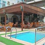 Hotel bar/entrance/pool area
