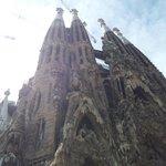 Sagrada Familia - Front facade