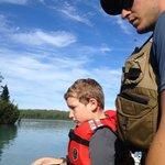 Alex fishing guide great teacher - patient
