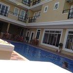 Refreshing clean pool
