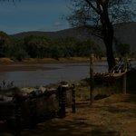 Zonas comunes con vistas al rio