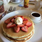 The biggest but lightest pancakes