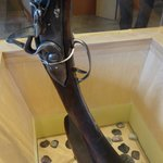 17th Century Musket on display