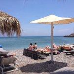 Strand gleich 1 Minute vom Hotel