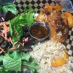 Whiskey River Peach Preserve BBQ Chicken