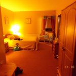 Our room, (sorry overexposure on cam)