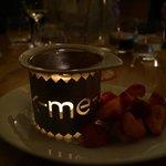 desert - chocolate fondue