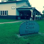 Front view of Carlos Creek Winery