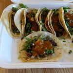 Wednesday $1.00 mini asada steak taco