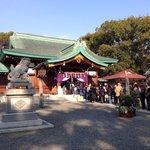 川原神社 初詣