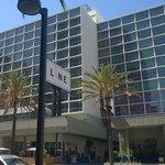 The hotel was landmark-like