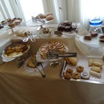 Pastry Selection at Breakfast