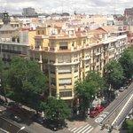 Вид на Мадрид с 8 этажа