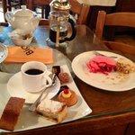 "After noon ""tea"" at Madame Bigot's"