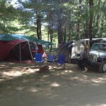 W Camping area