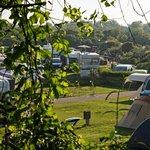 Blick auf einen Camperbereich