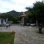 Aquila Elounda Village Restaurant Symposium mit Kapelle