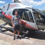 My first helicopter flight above the Grand Canyon