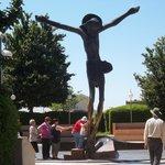 Statue of the Risen Jesus