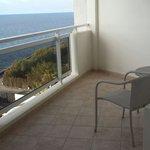 Terraza habitacion doble vistas al mar