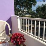 Balcón vista mar