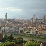 Vista de Firenze a partir da Piazzale Michelangelo