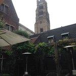 Prachtig terras in hartje Brugge