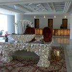 Grecotel Creta Palace Lounge mit Rezeption