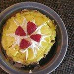 Sweet appetizer for breakfast... YUM !!!