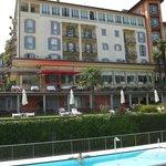 Hotel Belvedere facing Lake Como