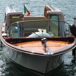 On Lake Como.