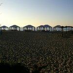 Grecotel Creta Palace Strand am Abend