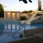 Grecotel Creta Palace Pool mit Rutsche nahe Kinderclub