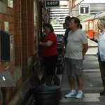 Ticket office at Toddington Station