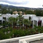 Grecotel Creta Palace Außenbereich des Hauptrestaurants