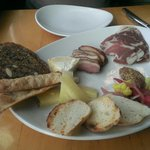 Design your own charcuterie - don't miss the duck pastrami.