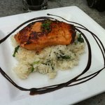 Miso maple glazed salmon was the best salmon I have eaten.