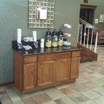 Lobby coffe/tea station