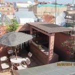 Terrasse avec bar