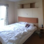 Spacious double bedroom with ensuite