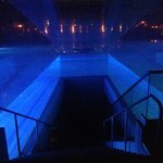 The Pool Stairway at Night