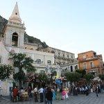 Taormina main square