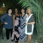 A super night at The Old Town - in the courtyard garden