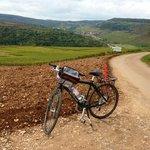 Cycling in Burgundy.