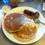 puncakes and sausage