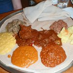 yummy platter of food